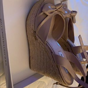 Wedge Blush color Steve Madden
